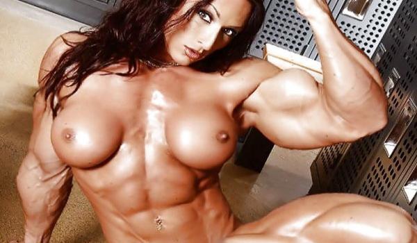 Seleção de 53 fotos com mulheres musculosas