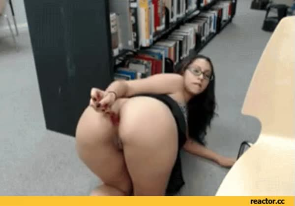 Sexy pussy and dildo gif