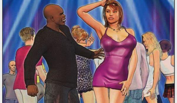 Sedutora tarada trepou com negão – Quadrinhos eróticos