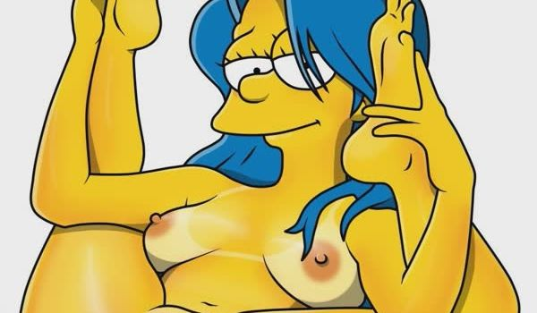 Marge Simpson bem gostosa