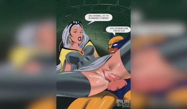 Imagem para Wolverine trepando a xana da tempestade