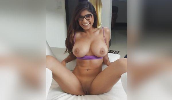 Fotos porno com a gostosa Mia Khalifia