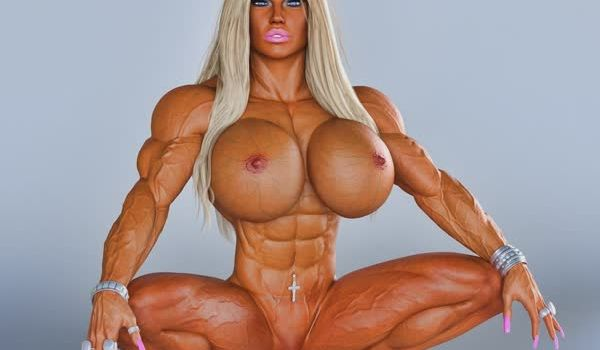 Imagem para Musculosas e gostosas em 3D